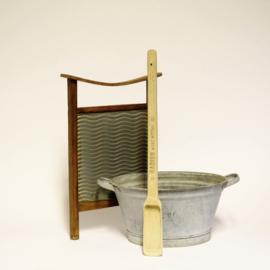 Grote houten lepel voor Radion waspoeder - Brocante / Nostalgie