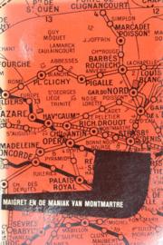 ZB0118/8 - Georges Simenon - Maigret en de maniak van Montmartre