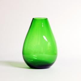Groene Vaas -  Glas in druppelvorm