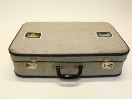 Vintage Koffer - Grijs