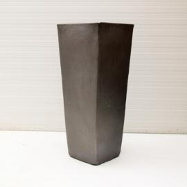 Grote Bloempot (Kubis) - Antraciet - H 90,5 cm