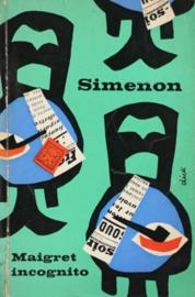 ZB0117/1 - Georges Simenon - Maigret incognito