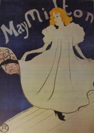 Affiche / poster May Milton - Henri de Toulouse-Lautrec - 1895 - print