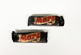 Vintage Mars 2 stuks Candy Bar 1995