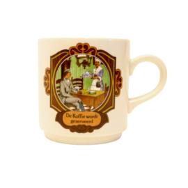 Villeroy & Boch - D.E. Mok - De koffie wordt geserveerd
