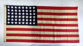 """Zeer zeldzame Amerikaanse Navy vlag """"US No 11 MI 44"""" 48-sterren"""