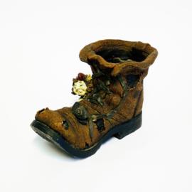 Bloempot Schoen - Sprookje - Laaf met Slak