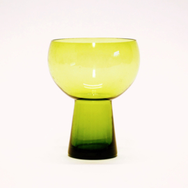 Bloemenvaas - Glas - Groen - 14 cm