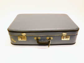 Vintage Koffer - Blauw