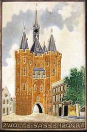 Cloisonné siertegel - Westraven - Zwolle-Sassenpoort