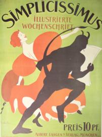 Affiche Simplicissimus Thomas Theodor Heine 1897 - Print