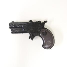 Zee Toys -  Gambler - Vintage metalen speelgoed Pistooltje