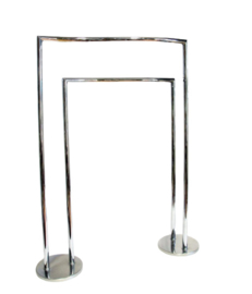 Lineabeta - Handdoekhouder / rek  - Chroom - Italiaans design