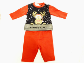 Kerst Pyjama Baby