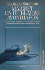 ZB0280/10 - Georges Simenon - Maigret en de blauwe avondjapon