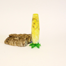 Boheemse geëmailleerd Uranium vaasje