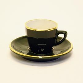 Espresso Kop en Schotel - Apilco - Vert Empire