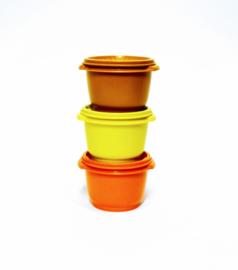 Voorraaddoos / Trommel - Tupperware - Bruin