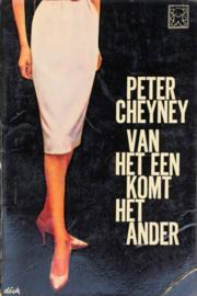 ZB0339/3 - Peter Cheyney - Van het een komt het ander