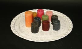 Kaarsenplateau / Dienblad 61 cm - inclusief kaarsen :-)
