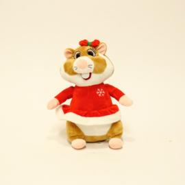 AH Hamster - Kerst Vrouw