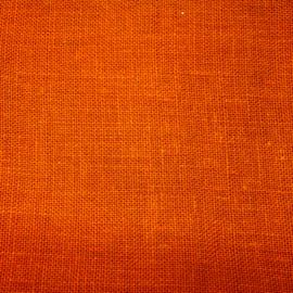 Coupon - Stof - Oranje - 120 cm x 130 cm