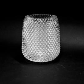 Vaas van Glas - Driehoek XL