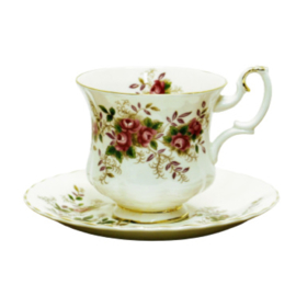 Kop en Schotel (Dames) - Royal Albert - Lavender Rose