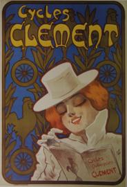 Affiche Cycles Clement  Ferdinand Misti-Mifliez 1895 - Print
