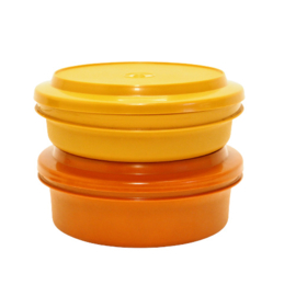 Opbergbak - Tupperware - Seal n Serve - Oranje