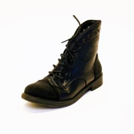 Trend One - Laarsjes - Zwart - Maat 39