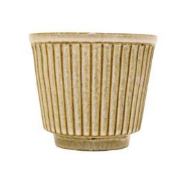 Bloempot / Cactus pot - Ribbel