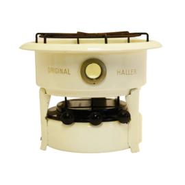 Petroleumstel - Original Haller - 3 pits - Creme