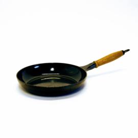 Koekenpan - Ø 25 cm x H 4,5 cm - Gietijzer - Franse Keuken
