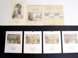 Collectie onbeschreven Anton Pieck Kalenders