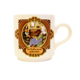 Villeroy & Boch - D.E. Mok - De koffie wordt gedronken