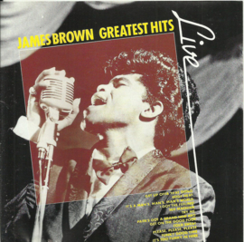 "James Brown ‎– Greatest Hits ""Live"""