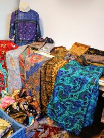 Batik Stof - Coupons - Diversen