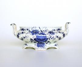 Delfts blauwe Jardiniere H. Bequet