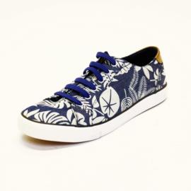 DMG - Sneakers - Blauw / Wit - Maat 43