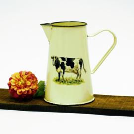 Emaille schenk kan - Koe