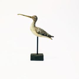 Vogel Decoratie Snip - Wulp - Hout