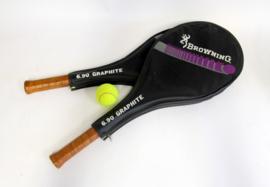 Browning Tennisrackets 6.90 Graphite - 2 stuks