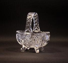 Vintage kristallen hengselschaaltje