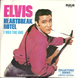 Elvis Presley ‎– Heartbreak Hotel / I Was The One