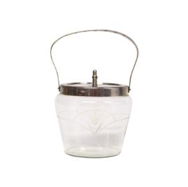 Koekjestrommel met hengsel - Glas