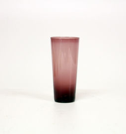 Hoog Paars drinkglas - Leerdam