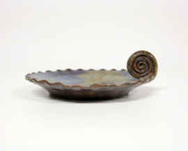 serveerschaaltje - Ø 18 cm - geglazuurd keramiek