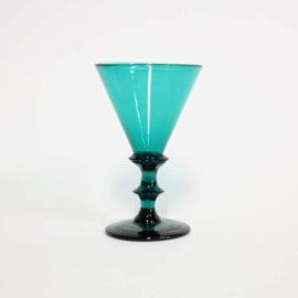 Antiek Wijnglas / Paraplu glas -  Bristol Engeland - ca 1830