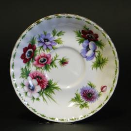 Schotel Ø 13,7 cm - Royal Albert - Flower of the Month Series - Anemones